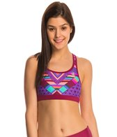 Body Glove Breathe Women's Equalizer Print Sports Bra