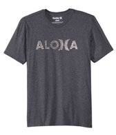 Hurley Men's JJF Aloha Push Thru Short Sleeve Tee