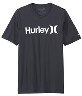 Hurley Men's Dri-Fit One & Only Short Sleeve Surf Shirt