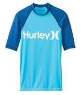 Hurley Men's One & Only Short Sleeve Rash Guard