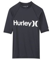 Hurley Men's One & Only Short Sleeve Rash Guard
