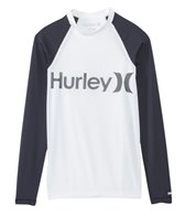 Hurley Men's One & Only Long Sleeve Rash Guard