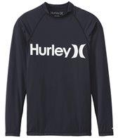 Hurley Men's One & Only Long Sleeve Rash Guard