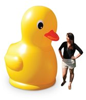 Big Mouth Toys 7' Gigantic Inflatable Rubber Duckie