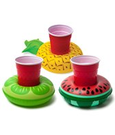 Big Mouth Toys Inflatable Pool Party Beverage Boats: Tropical Fruit (3 pack)