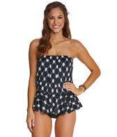 Maxine Diamond Treasure Peplum One Piece Swimsuit