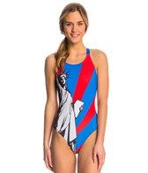Triflare Women's Lady Liberty Blade Back 1 Piece