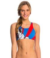 Triflare Women's Lady Liberty Sport Bikini Top