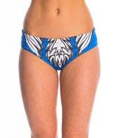 Triflare Women's Stars and Stripes Sport Bikini Bottom