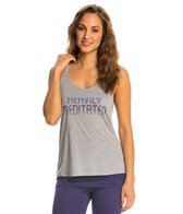Yoga Rx Heavily Meditated Slouchy Workout Tank Top