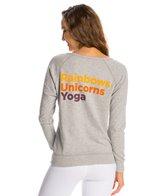 Yoga Rx Rainbows, Unicorns & Yoga Workout Pullover