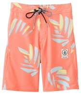 Volcom Boys' Party Pack Neuvo Elastic Waist Boardshort (8-20)