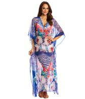 Pia Rossini Santos Maxi Cover Up Kaftan