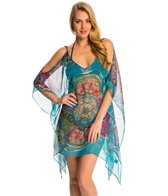 Pia Rossini Olympia Cut Out Cover Up Tunic