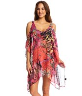 Pia Rossini Perrilli Cover Up Drawstring Kaftan