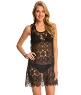 Pia Rossini Argentina Lace Cover Up Beach Dress