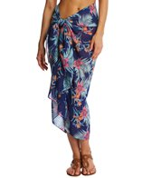 Pia Rossini Palm Cover Up Sarong