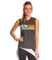 Sun Salutations Muscle Workout Shirt