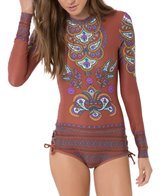 O'Neill 365 Style Long Sleeve One Piece Swimsuit