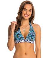 Athena Swimwear Mosaic Tile Halter Bikini Top