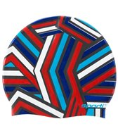 Sporti Borderline Silicone Swim Cap