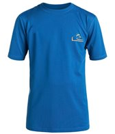 Quiksilver Boy's New Wave Short Sleeve Swim Shirt