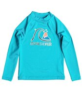 Quiksilver Kids' Bubble Long Sleeve Rash Guard