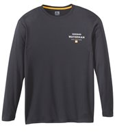 Quiksilver Men's Water Marked Long Sleeve Swim Shirt