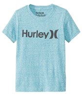 Hurley Boys' Solid One & Only S/S Tee (4yrs-7yrs)