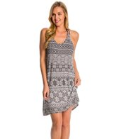 Lavish Printed Tank Cover Up Dress
