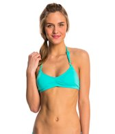 Lo Swim Three-Braid Halter Training Swimsuit Top