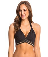 Kenneth Cole Stompin In My Stilleto's Push Up Halter Bikini Top
