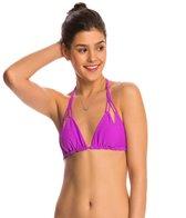 Luli Fama Swimwear Cosita Buena Reversible Triangle Bikini Top