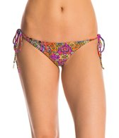 Luli Fama Swimwear Gipsy Soul Brazilian Tie Side Bikini Bottom
