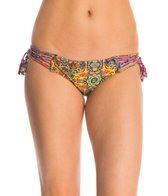 Luli Fama Swimwear Gipsy Soul Criss-Cross Side Bikini Bottom