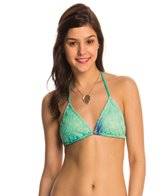 Luli Fama Swimwear Siete Mares Braided Triangle Bikini Top