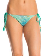 Luli Fama Swimwear Siete Mares Brazilian Tie Side Bikini Bottom