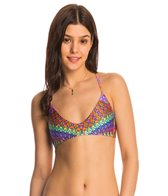 Luli Fama Swimwear Free Love Criss-Cross Back Bikini Top