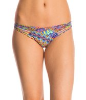 Luli Fama Swimwear Free Love Strappy Bikini Bottom