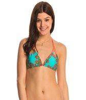 Luli Fama Swimwear Suenos Estrellados Reversible Triangle Bikini Top