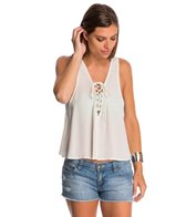 Lucy Love Color Crush Lace Up Swing Top