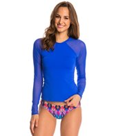 Skye So Soft Solid Romy Long Sleeve Rashguard Top