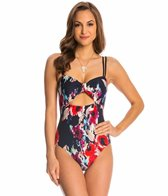 Kate Spade Colombe D'Or Peep Hole One Piece Swimsuit