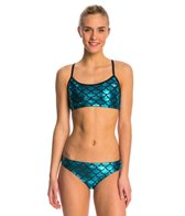 The Finals Funnies Mermaid Workout Two Piece Bikini Swimsuit Set