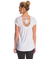 Satva Organic Nalika Crochet Yoga Shirt