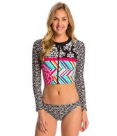 Coco Rave Swimwear Summer Patch Naya Crop Rashguard