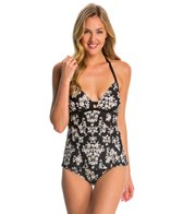 Coco Rave Swimwear Sorority Girl Cara Halter Tankini Top