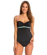 Coco Rave Swimwear Keep It Cute Peek-a-Boo Underwire Tankini Top