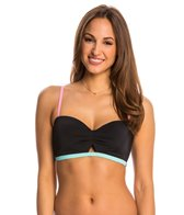 Coco Rave Swimwear Keep It Cute Peek-a-Boo Underwire Bralette Bikini Top