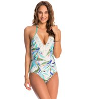 Ella Moss Birds of Paradise One Piece Swimsuit